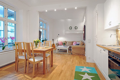 Espacios pequeños: Una casa de 40 metros cuadrados
