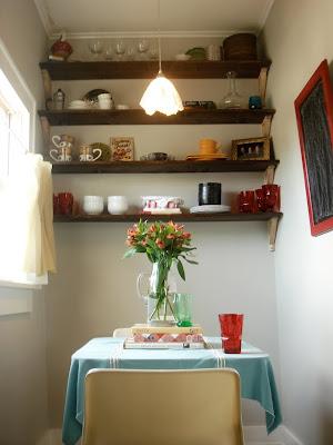 Antes y después, crear Rincón office, cocina