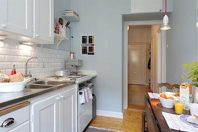 Pequeños apartamentos: Una casa de 35.5 metros cuadrados