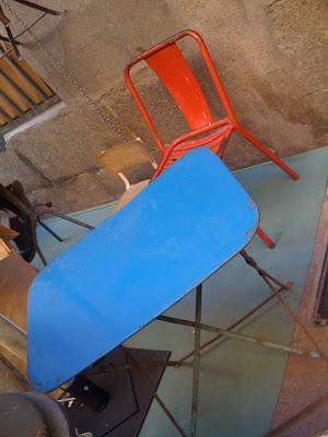 decoración, antiguedades, restauración, silla