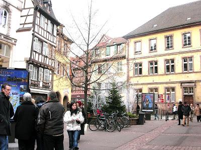 Colmar, ciudad de cuento, mercadillo de navidad