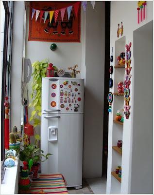 En casa de, decoración, colores, hecho a mano, personalidad