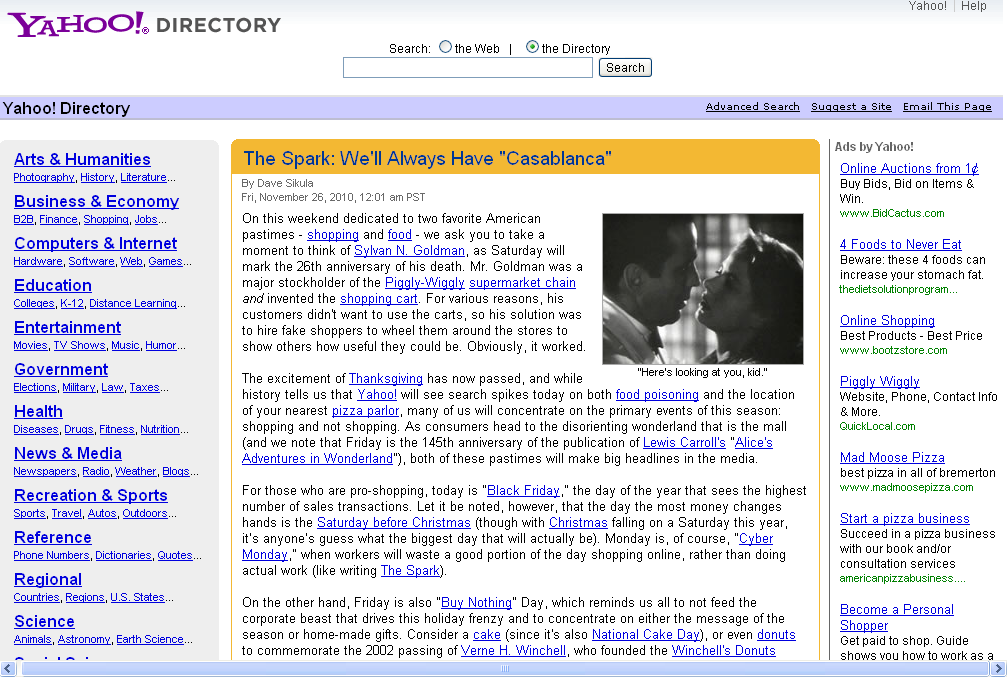 free web directories