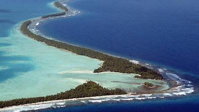 une des îles Tuvalu