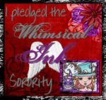 Whimsical Ink Sorority Badge