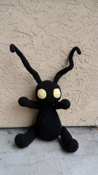 Kingdom Hearts Free Crochet Patterns : Adventures in Yarnland: Kingdom Hearts Heartless Crochet ...