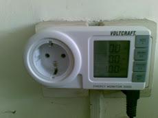 Đồng hồ đo năng lượng điện V, A, Cos a