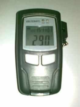 Máy đo nhiệt độ, độ ẩm lưu trữ kết nối USB