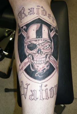 Raider's Tattoo