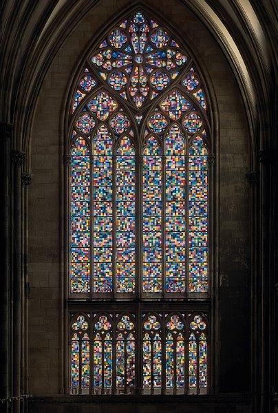 Vidriera de la Catedral de Colonia