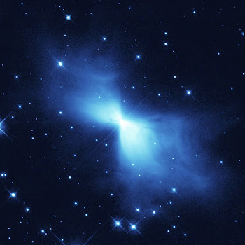 Hubble Catches Scattered Light from the Boomerang Nebula