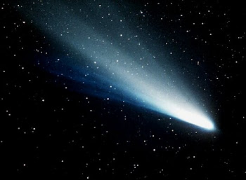 Comet C1975 V1 (west) in the constellation of Pegasus