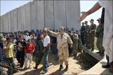 nel lager israeliano di Gaza