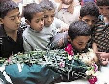 bambino  ucciso a gaza