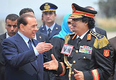 gheddafi e Berlusconi