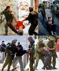 bambini palestinesi catturati