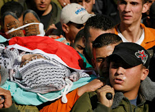 Funerali palestinese assassinato