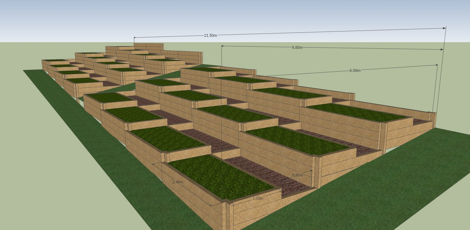 Hobart kitchen gardens designing my daughters school garden for Garden design hobart