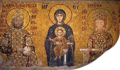 Aghia Sophia-mosaico