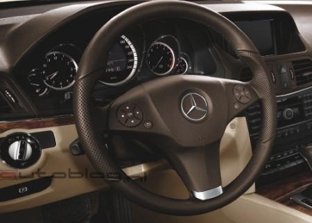 Mercedes Benz E Class Coupe Interior. 2009/10 Mercedes-Benz E-Class