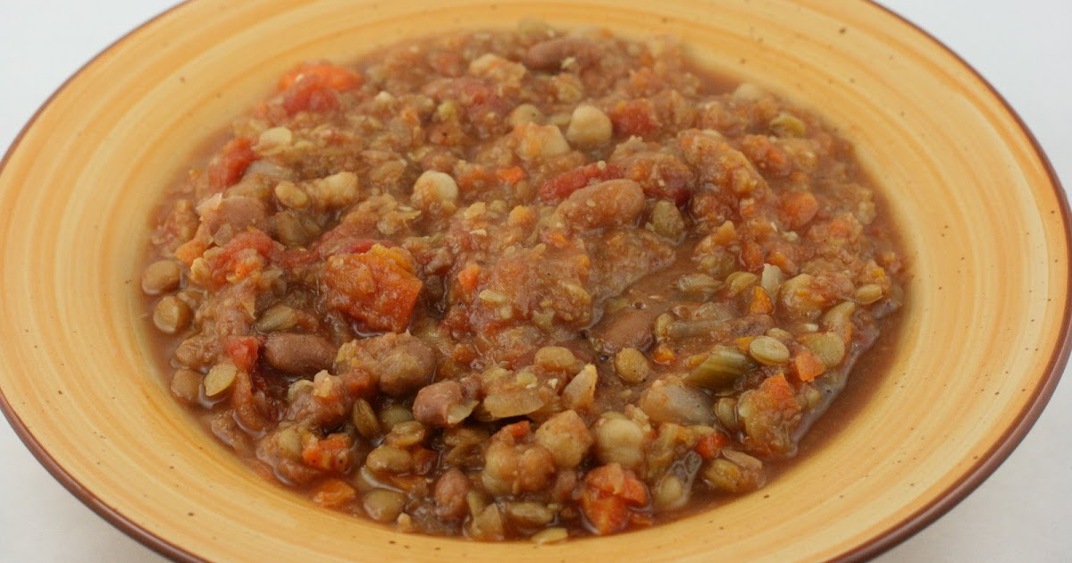 Moroccan Lentil Soup CrockPot Recipe