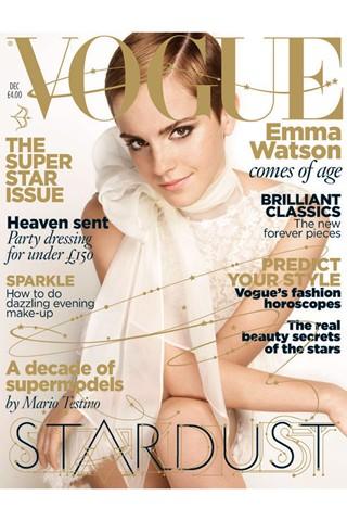 emma watson vogue shoot. Emma Watson para Vogue UK en