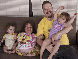 Seorang ibu terkecil di dunia saat ini tengah menantikan kelahiran ...