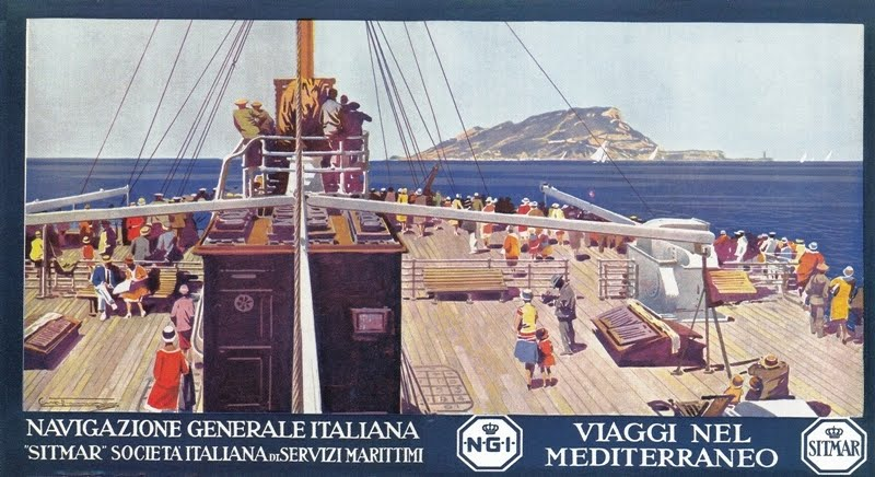 Plafoniere Da Nave : Grandi transatlantici italiani: roma 1926