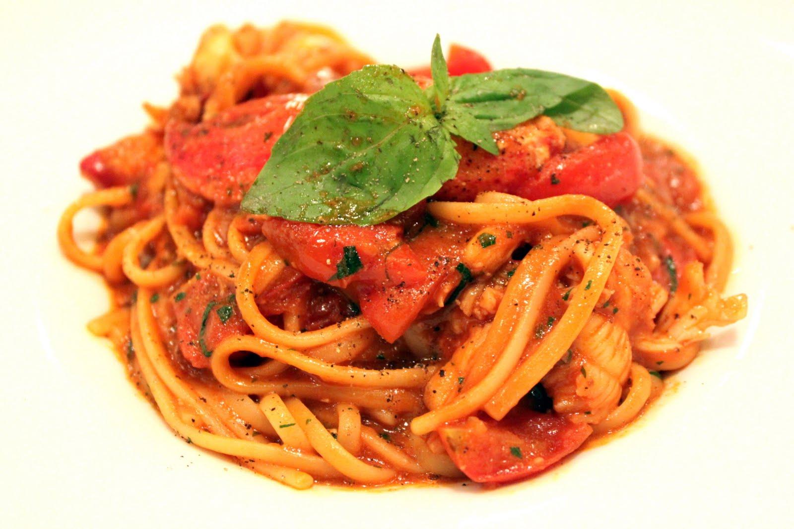 Linguini Pomodoro