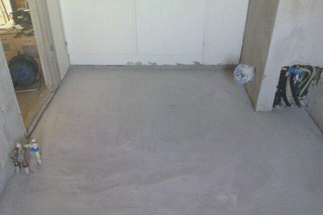 hallie handywoman: Støbe gulv