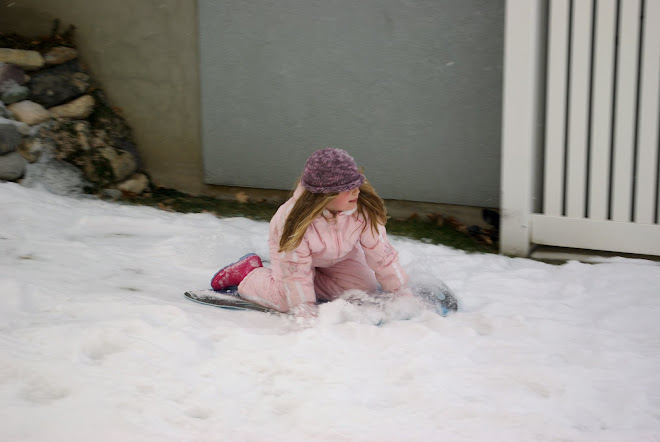 Ashlyn sledding
