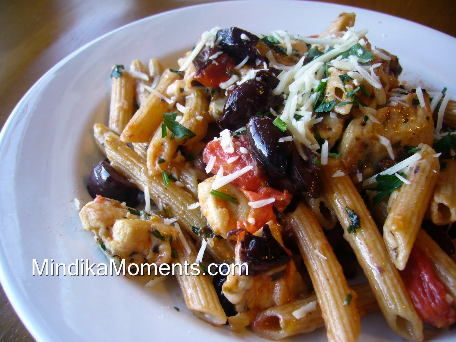 Tomato And Olive Penne Recipes — Dishmaps