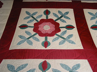 custom quilt with mctavishing