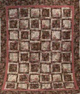 Sondra's Mark Lipinski quilt, quilted by Angela Huffman