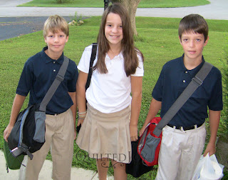 First day of Middle School!