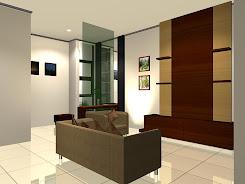Desain Ruang Keluarga 3D