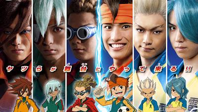 Cosplays Inazuma Eleven  Jap