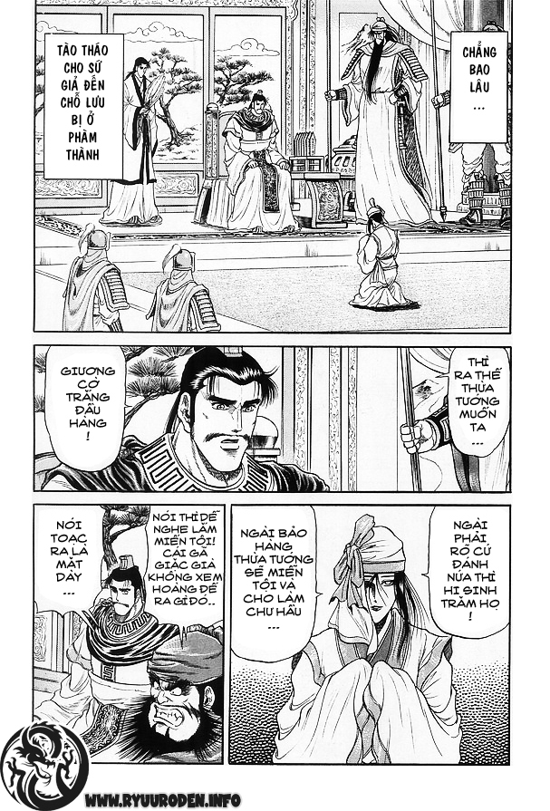 Chú bé rồng-Ryuuroden chap 15 Trang 32 - Mangak.info