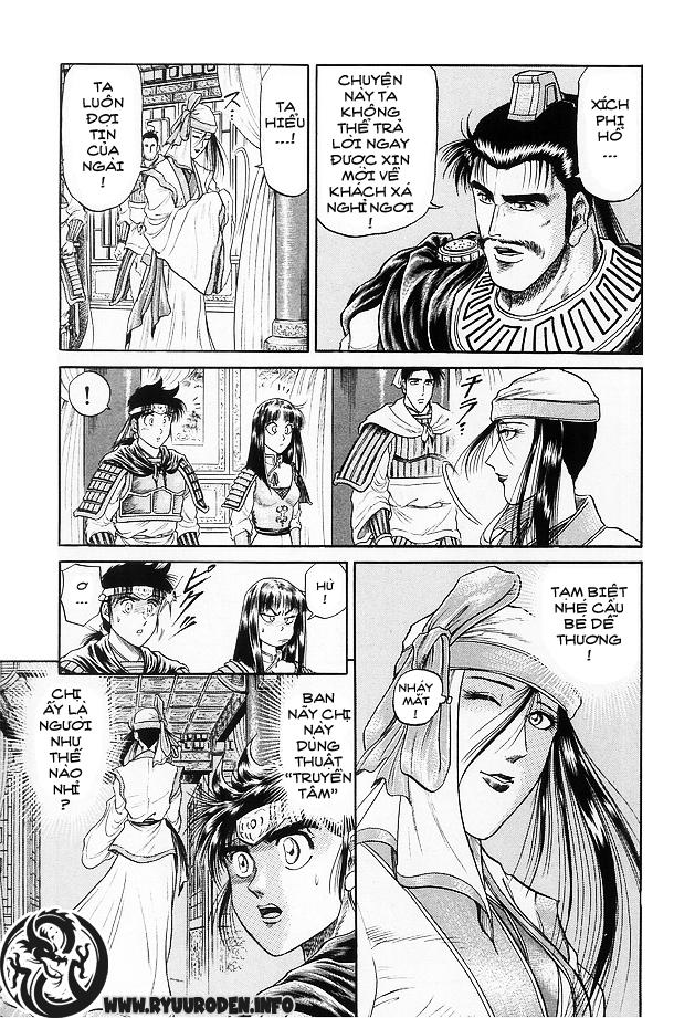 Chú bé rồng-Ryuuroden chap 15 Trang 33 - Mangak.info