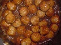 I tried to pretend that these were Swedish meatballs, but they were really just meatballs in gravy.