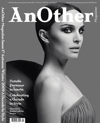 Natalie Portman On the Cover of AnOther Magazine
