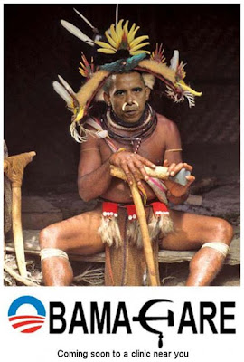 Obama Portrayed As Witch Doctor