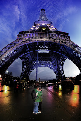 Beautiful world's Eiffel Tower