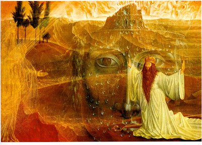 moses vor dem brennenden dornbuschmoses and the burning bush 1956 oil on canvas185 x 232 cm sterreichische galerie vienna