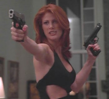 matey common alike deadly combination red head with gun