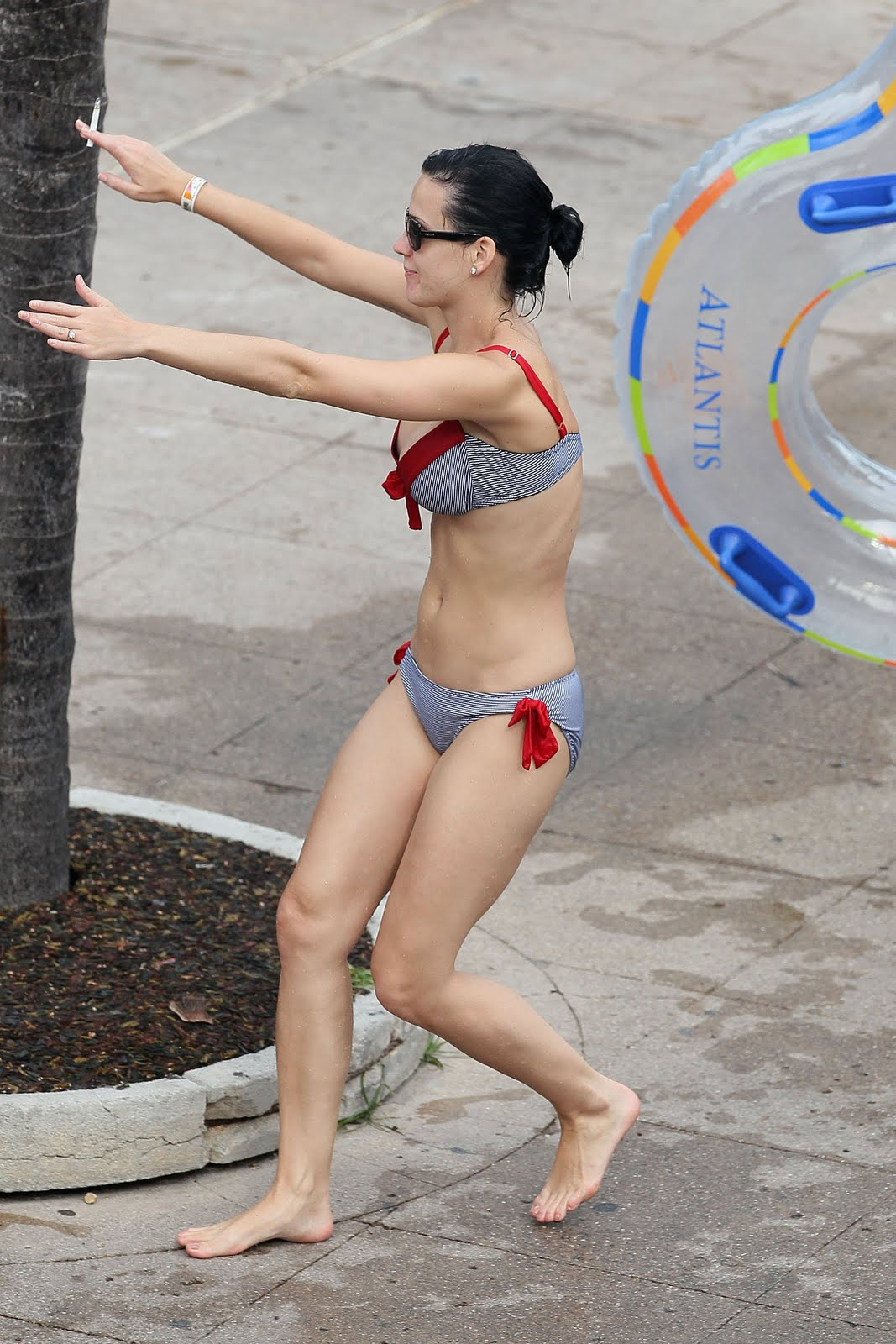 Katy Perry Bikini Water Park