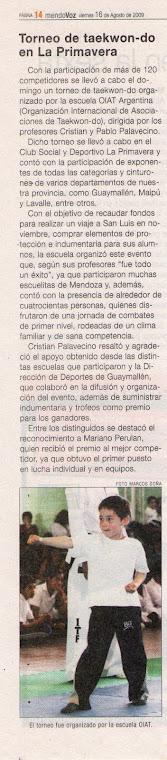 Nota 16/8/2009