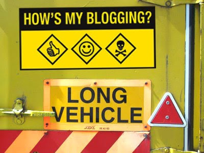 Hows my blogging lorry