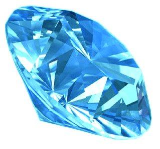 Plava magija Blue-diamond