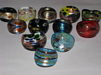 Murano Glass Rings